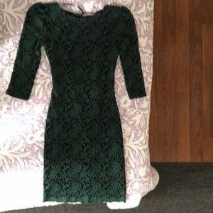 B. Darlin Green date dress